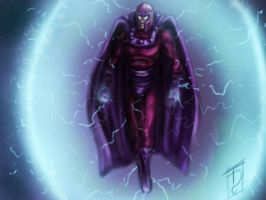 Magneto 1 hour sketch by Trance-Sephigoth