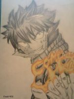 Natsu ''Come on...'' by Fresh002