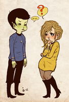 genderbend trek HOW ABOUT by surrenderdammit