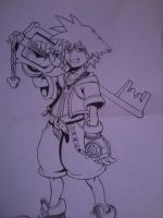 Sora (Kingdom Hearts) by Yuma76