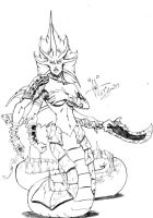 DoTA_Slithice_grayscale by khotia
