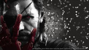 Metal Gear Solid V - Venom Snake Wallpaper by PastaBrain