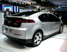 Chevrolet Volt Rear view by toyonda