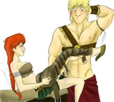 Gladiator thing. by xXx-Insatiable-xXx