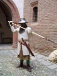 Medieval North-West (Piedmont) Italian Infantryman by FraterSINISTER