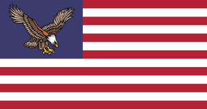 Kaiserreich Flag #2: American Union State by AlternateHistory