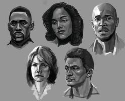 The Wire Studies by ebagg