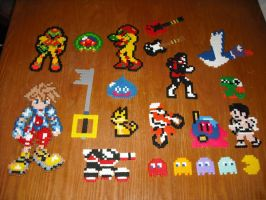 Perler Bead Art - Misc by Miuki-Salvarus