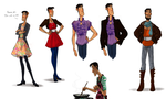 Darren occasional outfits by Bonka-chan