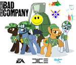 My Little Pony friendship is Bad Company by SwissLeo