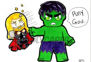 PUNY GOD! by CuddlyCapes