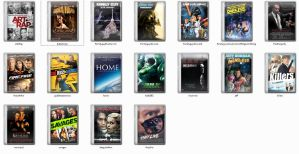 DVD movie icons 002 by vipbaka