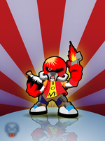 bomberman flames by DesignersJunior
