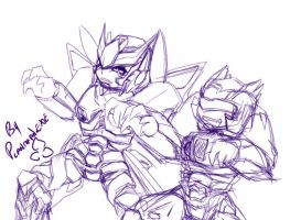 Dancin' TF - Thriller WIP by plantman-exe