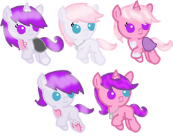 FOALS - Pastel Pearl X Lullaby - CLOSED by Neoceltia