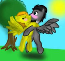 Discord Whooves x Kandice Kiss by XMLP-FIM-BasesX