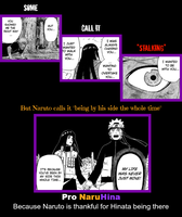 Pro NaruHina -The 'stalker' who's been by his side by ANTINaruSucku