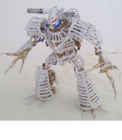 White Golem Front view by Panzer-13