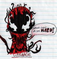 Carnage Doodle 2 by THE-R4GE