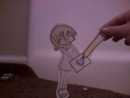 drawing with namine by Jadethefirefox