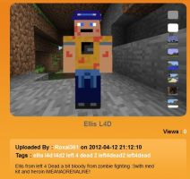 Minecraft skin: Ellis by SlushMonkey