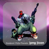 Deadpool: Philly Phanatic by elephantbones