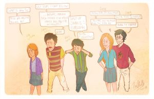 The Potters: Next Gen. by TheChicEffect