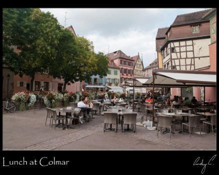 Lunch at Colmar by 2Stupid2Duck
