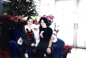 Pam, Me and Santa by Malificent