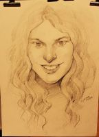portrait from event in Jerusalem:) by Dyadrov