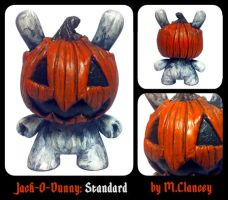 Jack-O-Dunny: Standard by Clanceypants