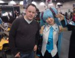 Hatsune Miku and me by memersonphotographic
