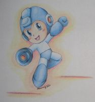 Megaman_Powered-Up by Freddy-Kun-11