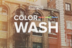 ColorWash Faded Photoshop Actions by filtergrade