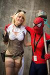 Hextech Janna and Spider...man? by IvrinielsArtNCosplay