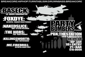 party bombers preflyer2 by reactionarypdx