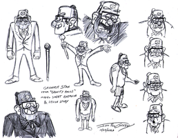 Grunkle Stan Exercise & Study - 2013-10-25 (Re by ryuuseipro