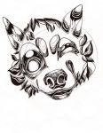 Wolf Smile by ClaraBacou