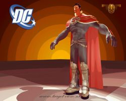 3D Superman Godfall 2 by TargetView
