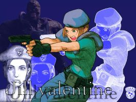 jill valentine wallpaper. by keitaro86