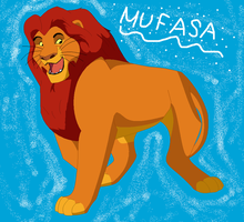 Mufasa c: by Kyuubi83256