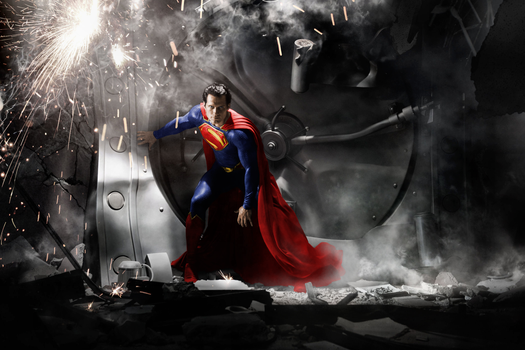 Man Of Steel - Colour Edit by Grimeministar