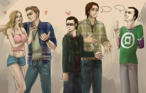 the supernatural big bang theory by nightmarez0mbie