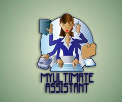 MY ULTIMATE ASSISTANT LOGO by truthdondie