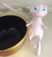Finished Mew Papercraft by giden445