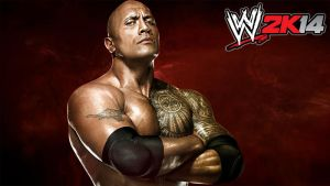 WWE 2K14 The Rock wallpaper by jithinjohny