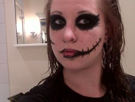 .:Makeup - BVB Warpaint:. by lonebeauty