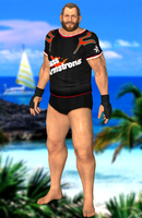 Bass Armstrong(Fighter) Dead or Alive 5 by XKamsonX