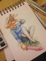 Fionna and and cake by strawberrymurdererer
