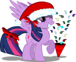 X-mas Twilight Sparkles by RiskyTheArt